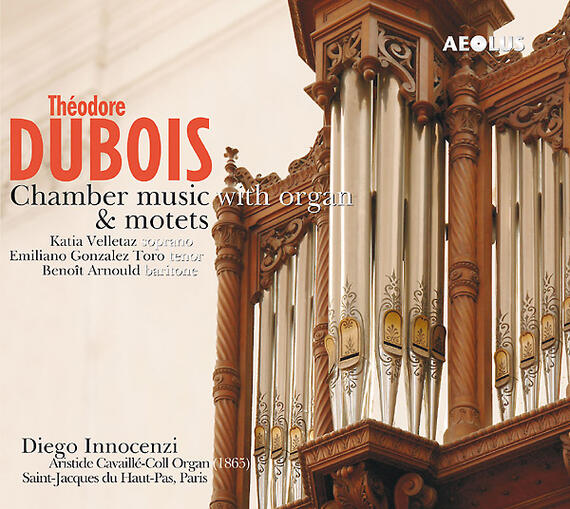 AE10083 Dubois, Théodore Chamber Music with Organ & Motets