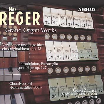 AE10411 Reger, Max Max Reger: Grand Organ Works