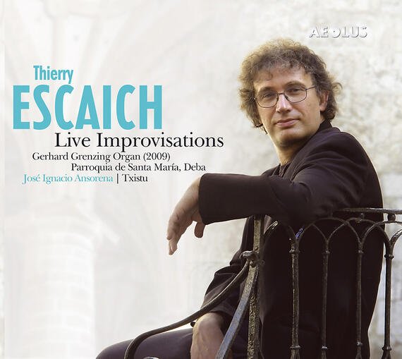 AE10691 Escaich, Thierry Thierry Escaich - Live Improvisations