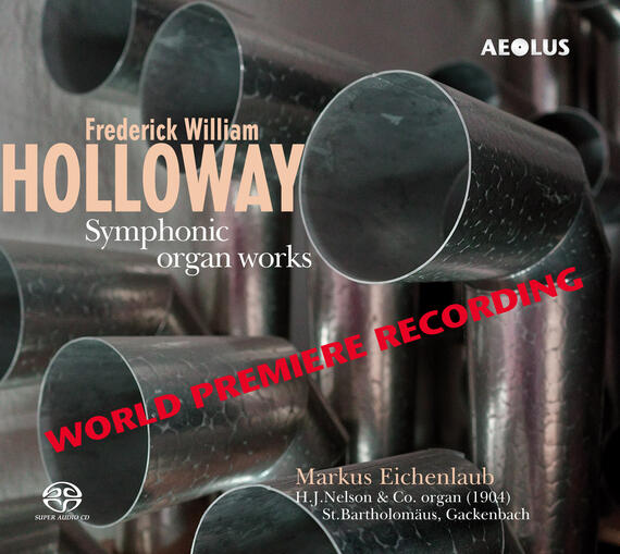 AE11181 Holloway, Frederick William Symphonic Organ Works