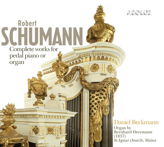 AE11201 Schumann, Robert Complete works for pedal piano or organ