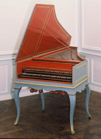 Couchet/Blanchet/Taskin harpsichord (Collection Kenneth Gilbert, Chartres)