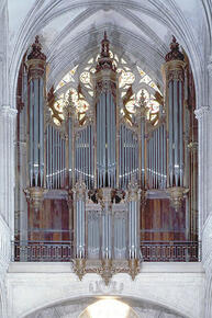 Bayeux cathedral, choir organ