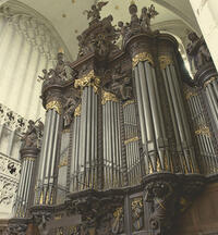 The Pierre Schyven organ of Antwerp Cathedral