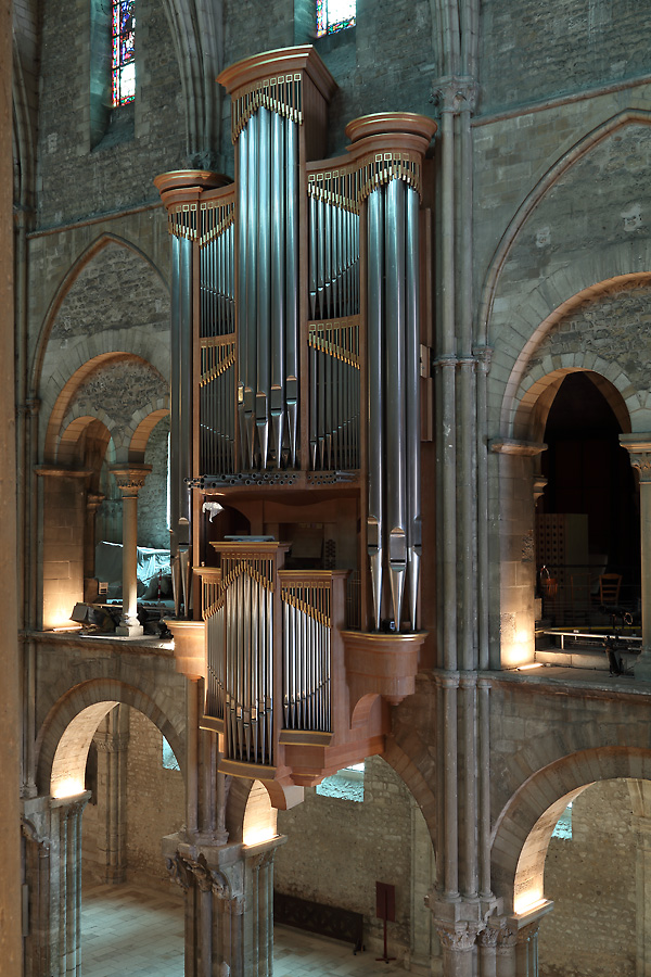Bertrand Cattiaux organ, Reims, St Remi